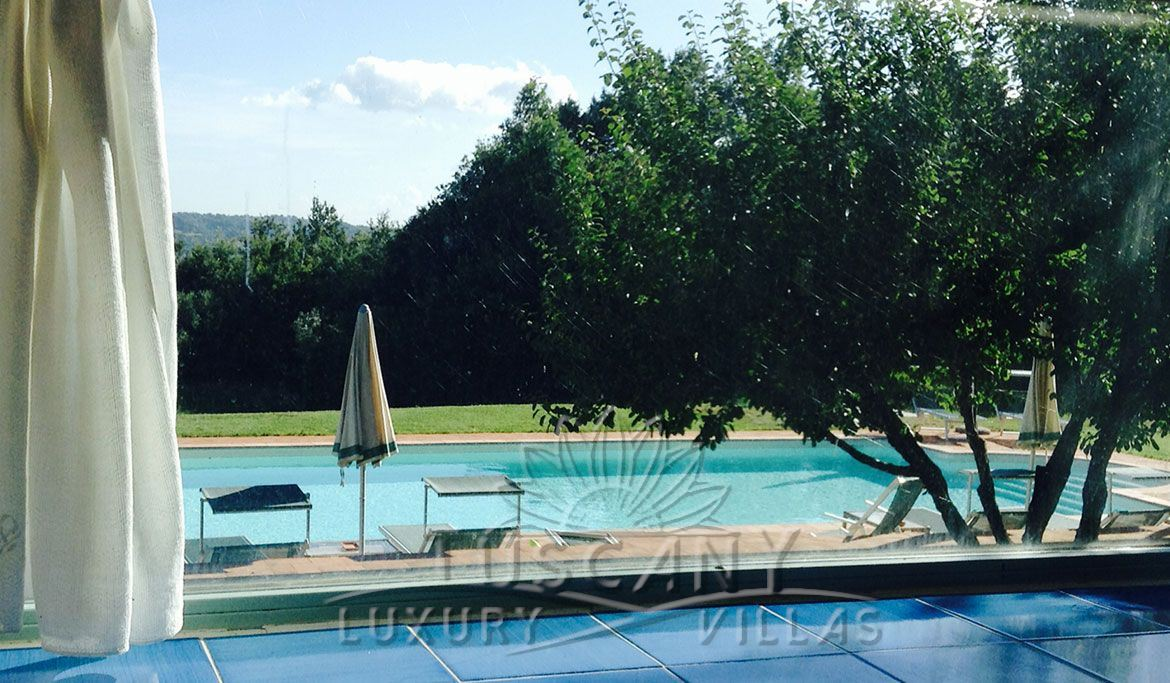 Farmhouse for sale in Tuscany near thermal park: Swimming pool