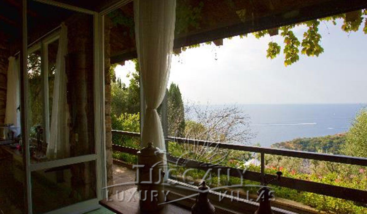Exclusive luxury villa for sale in Monte Argentario with pool: View from the terrace