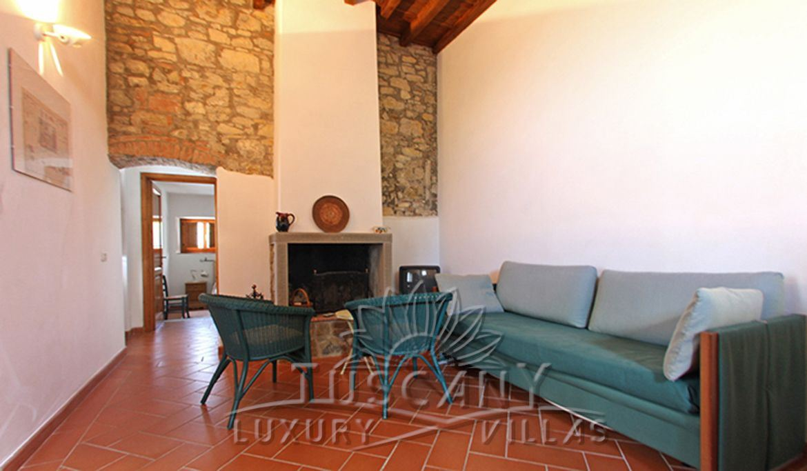 Luxury villa for sale in Florence hills with pool: Internal view